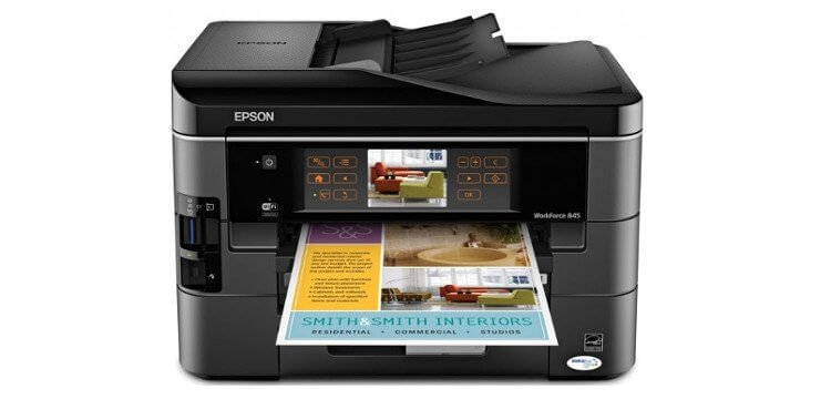 Epson WorkForce 845 с СНПЧ 3
