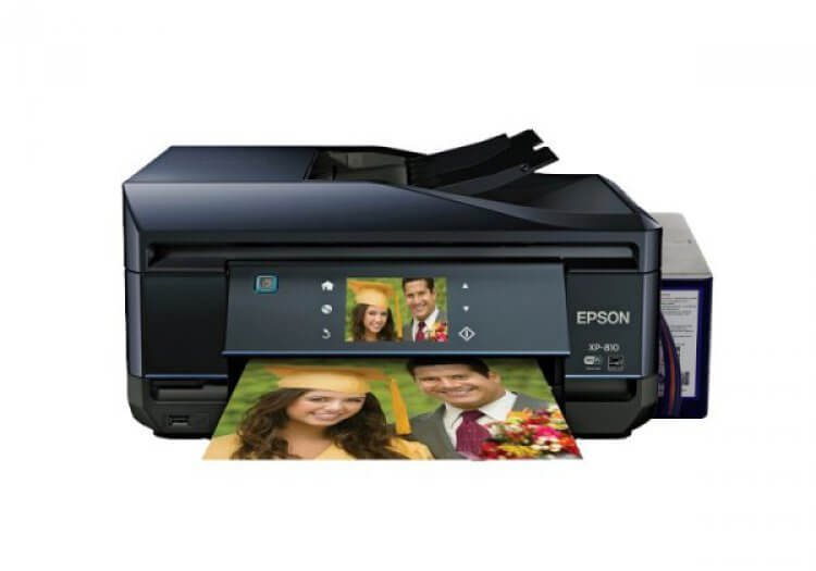 Изображение МФУ Epson Expression Premium XP-810 Refurbished с СНПЧ