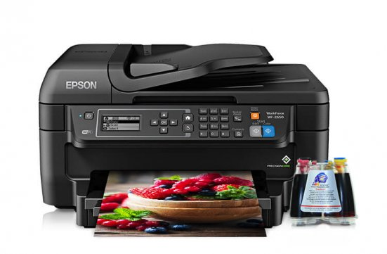 МФУ Epson Workforce WF-2650 Refurbished с СНПЧ фото Алмата