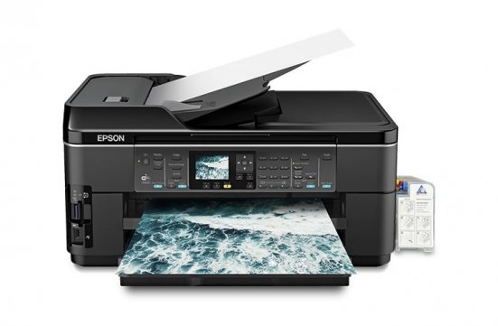 МФУ Epson WorkForce WF-7510 с СНПЧ картинка Алмата