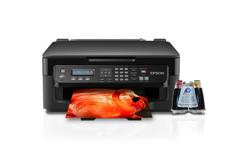 МФУ Epson Workforce WF-2510WF с СНПЧ фото