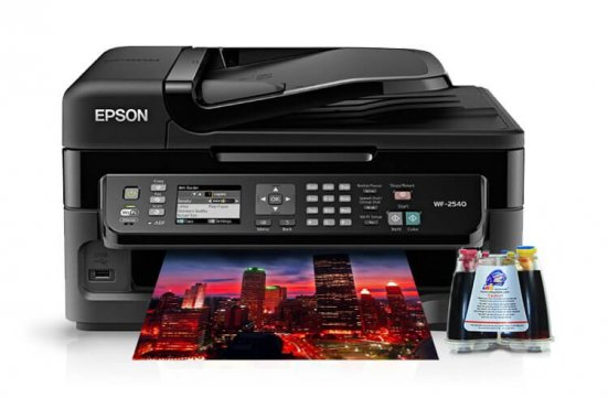 МФУ Epson WorkForce WF-2540 с СНПЧ фото Астана