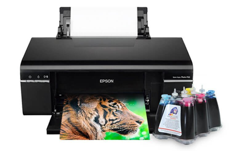 Принтер Epson Stylus Photo P50 с СНПЧ картинка Казахстан