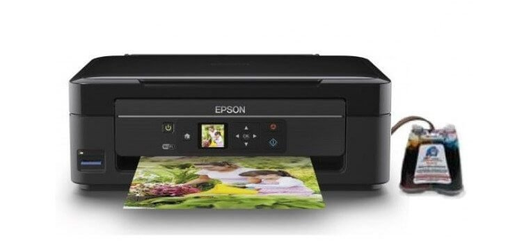 МФУ Epson Expression Home XP-313 с СНПЧ картинка Казахстан